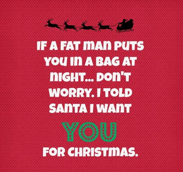 Funny Christmas Wishes for girlfriend