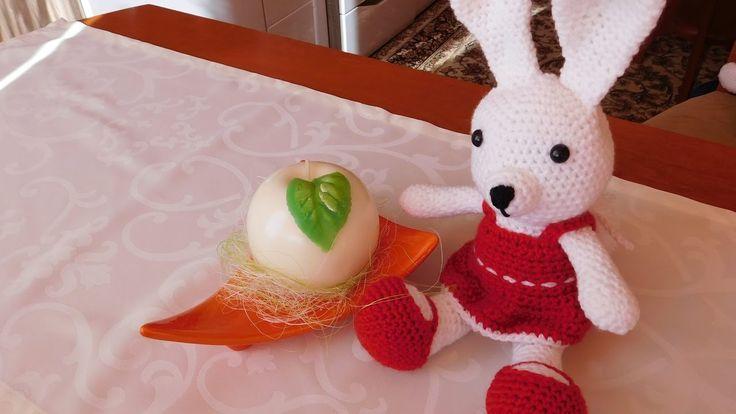 Zajączek na szydełku / Bunny Crochet Amigurumi / Ślązaczka Halinka
