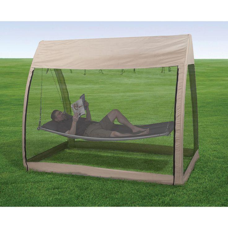 Advantek Outdoors Hammock w/Canopy and Bug Screen #24137