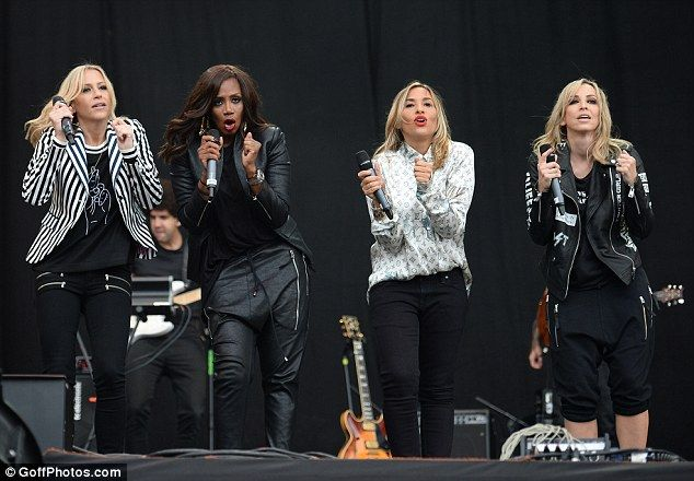 Girls day out: Nicole Appleton, Shaznay Lewis, Melanie Blatt and Natalie…