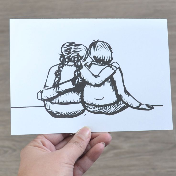 True Friends card, A card for any occasion, Anniversary Card, Valentines Day Card, Love Card, Friendship Card by AMTaylorArt on Etsy https://www.etsy.com/ca/listing/265500830/true-friends-card-a-card-for-any
