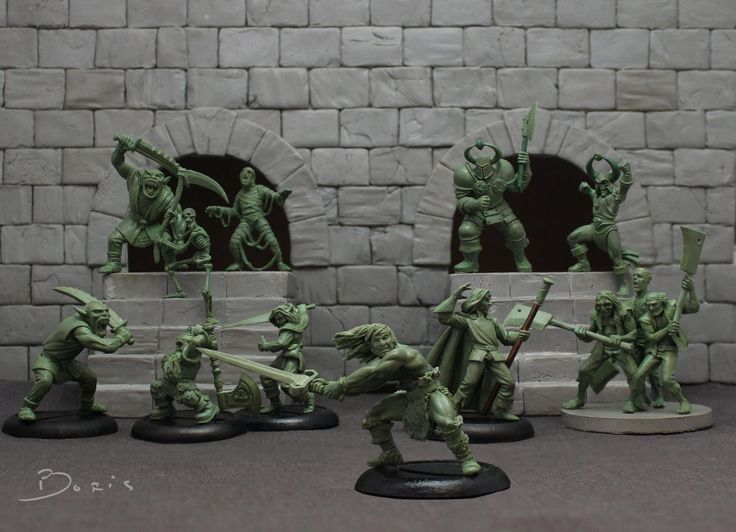 Boris Woloszyn Sculpts Up A Mighty HeroQuest Diorama