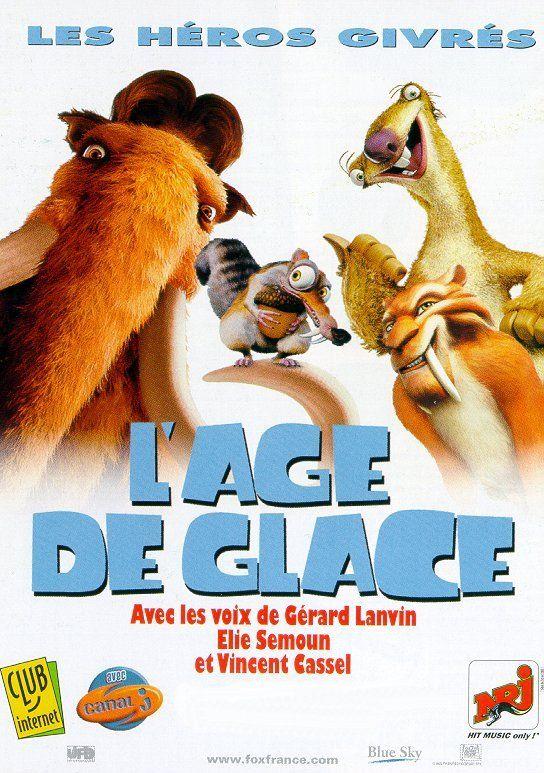 Affiche 01 de «L'ÂGE DE GLACE» [France]
