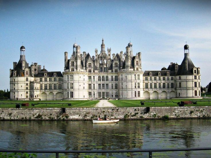 Schloss-Chambord-Chambord-Loiretal-Centre-Frankreich