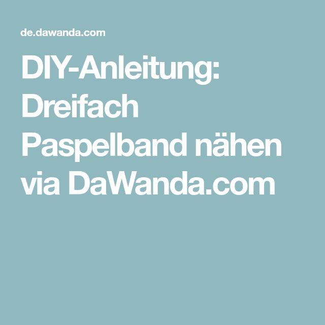 DIY-Anleitung: Dreifach Paspelband nähen via DaWanda.com