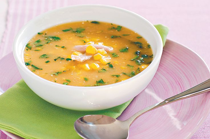 Add this hearty chicken and corn soup recipe to your repertoire for a quick, delicious and healthy meal.