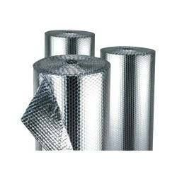 #Reflective_Insulation Material | Application | Specification Application: • Most preferable insulation where heat generated during operation like boiler house, hot water circulating area etc. • Under roof insulation • #Hvacinsulation • #Panel_insulation Specifications: • Roll size (w x l): 1. 2m x 40m • Bubble size: 4mm x 10 mm • Total thickness (mm): 8 mm • Reflection ratio: 97% • #Thermal resistance emissivity: 0. 03-0. 04 http://aerolaminsulations.com/reflective_insulation.php