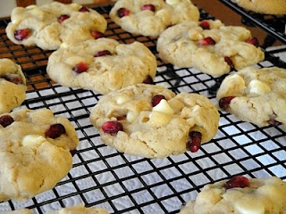 Pomegranate White Chocolate Chip Cookies | Just Chocolate Chip Cookie ...