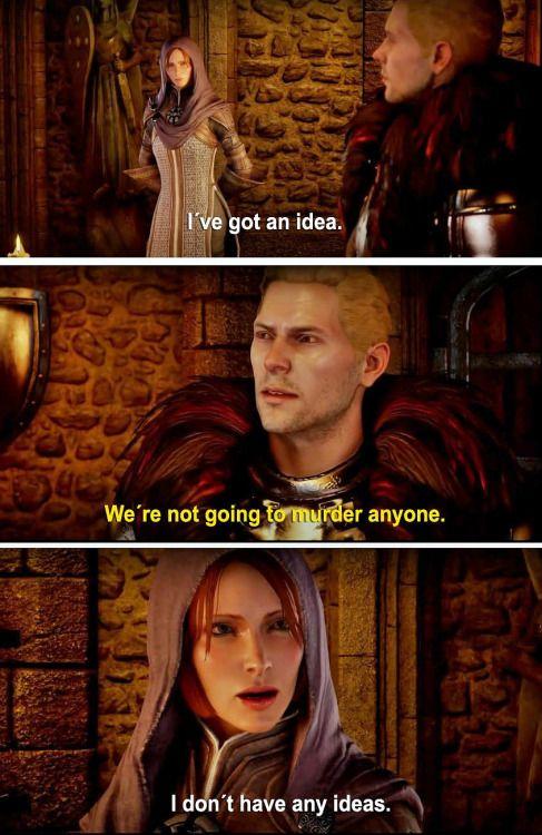 Leliana and Cullen