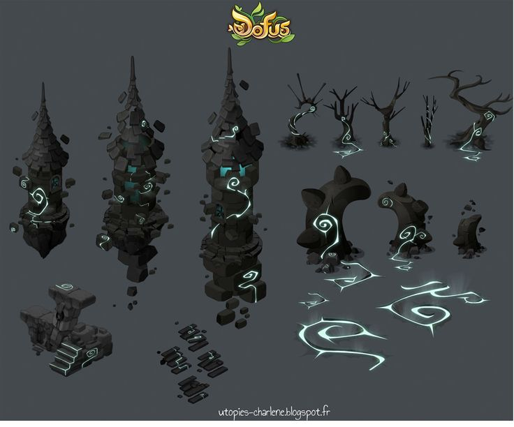 Dofus concepts by Charlene Le Scanf