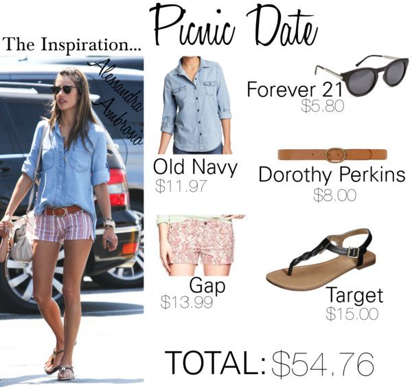Check out this affordable (and adorable) outfit for your next picnic date! http://www.nouveaudating.com/blog/the-picnic-date