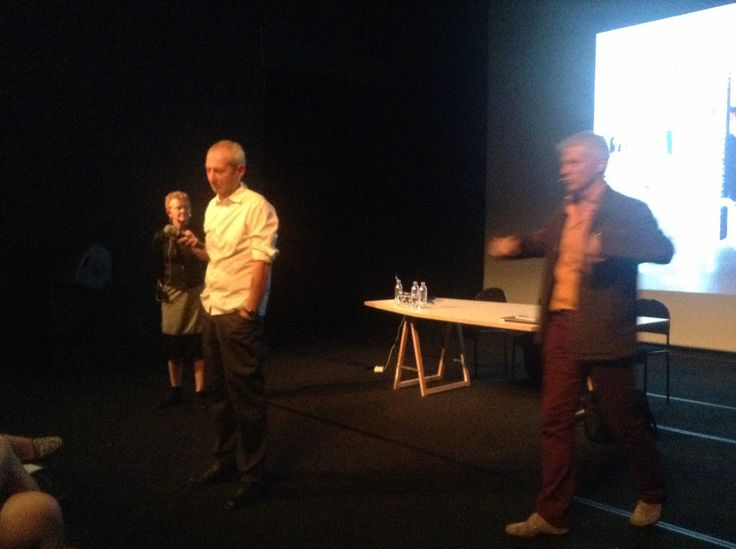 agps architects I conférence au centre culturel suisse, Paris