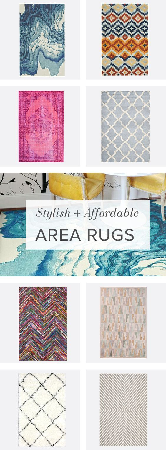 It's official: you're bored with your floor. Break your space up with a blast of color or bold graphic. Rugs are an easy way to update any room and they don't have to break the budget. Visit AllModern and sign up today to get exclusive access to deals up to 60% off.: