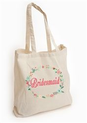Personalised Tote Bag for Bridesmaid! A cute tote bag for your Bridesmaids - will come in handy for keeping all the day's essentials safe! Available from WowWee.ie: €20.00