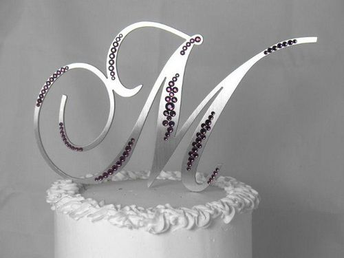 cheap monogram wedding cake toppers 17 best images about wedding ideas on 12516
