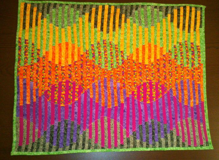 Hullámzó illúzió. Saját munka. http://foltrafel.blogspot.hu/2013/11/hullamzo-illuzio.html