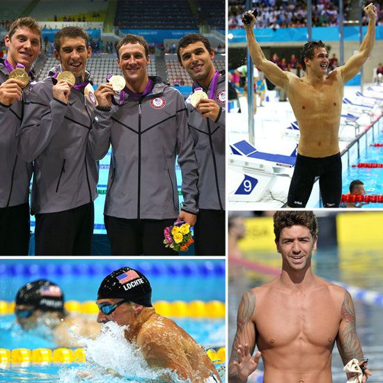 US Men's Olympics Swim Team