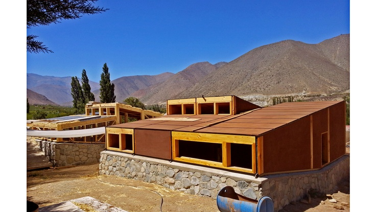 CCH Chillepin Ecofriendly Tourist Complex / Chillepin, Chile / 2012