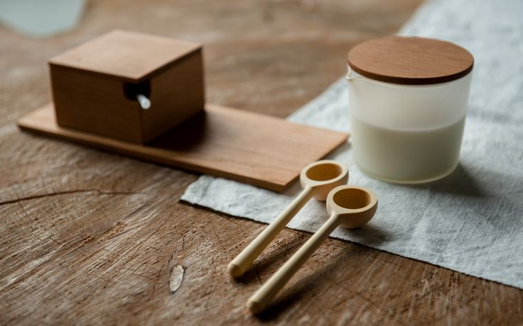 councilofobjects.com.au Burnish Tea Set & Huon Pine tea spoons Styling: Elise Short of Council of Objects Photography: Sven Kovac Location: The Props Dept.