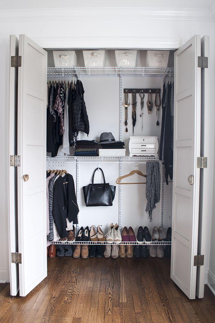 Maximizing Closet Space | Room for Tuesday