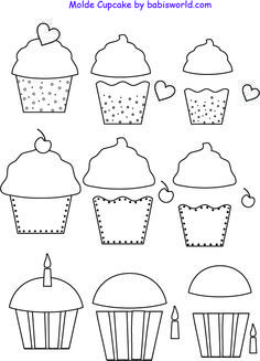 Fine motor and scissor skills - also would be great to use for matching a capital letter (written on cupcake liner) to its lowercase match (written on the frosting