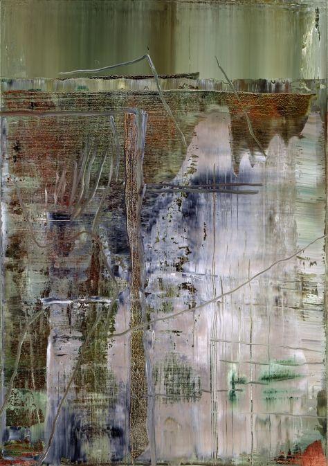 Gerhard Richter Abstraktes Bild 2005 113.5 cm x 72 cm Catalogue Raisonné: 891-3 Oil on canvas