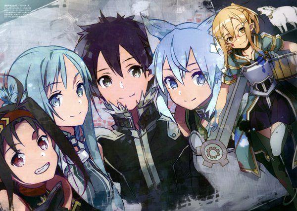 Sword Art Online by Takazuki (@Takasadasan) | Twitter