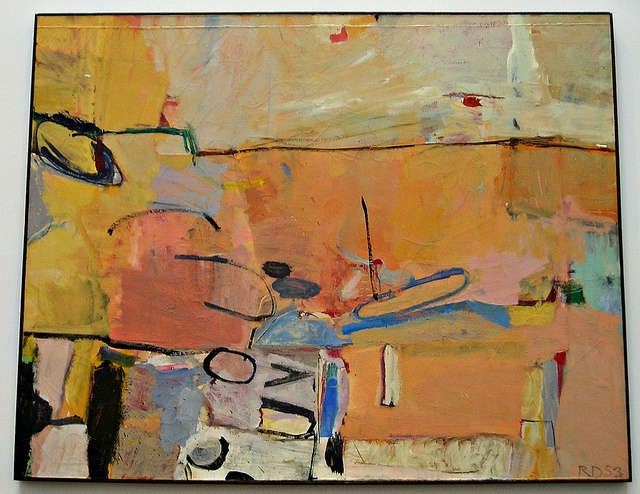 """""""Berkeley No. 3"""" Richard Diebenkorn 1954"""