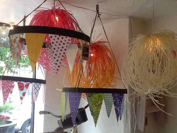 Whiskey barrel pennant hoops!! Can be used inside or out!!