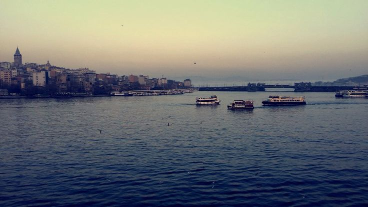 Istanbul from Halic