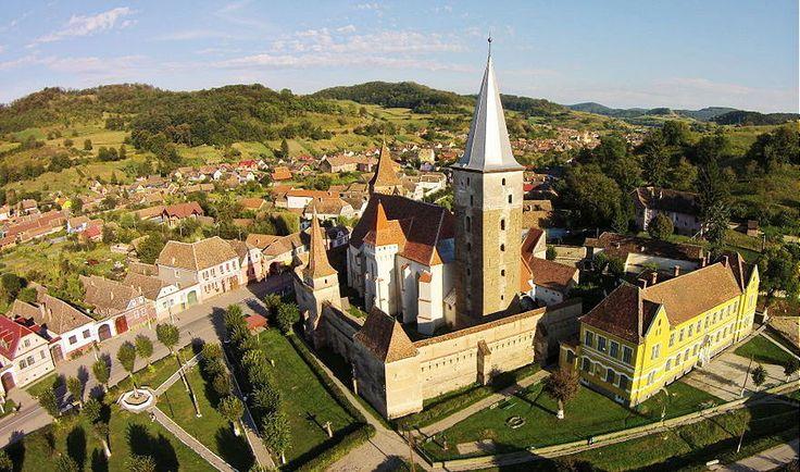 Mosna Fortified Church - Sibiu County, Transylvania. Credits Zsolt Deak