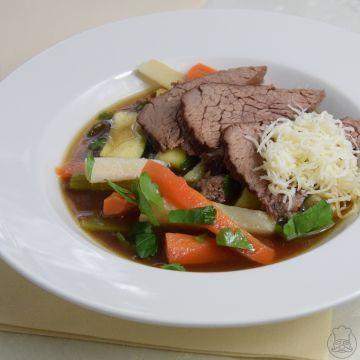 Tafelspitz - aneb vařené hovězí se zeleninou