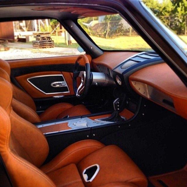 Corvette Custom Interior Grey Brown Black Silver Lsx Powered Hixdesign Hix Design