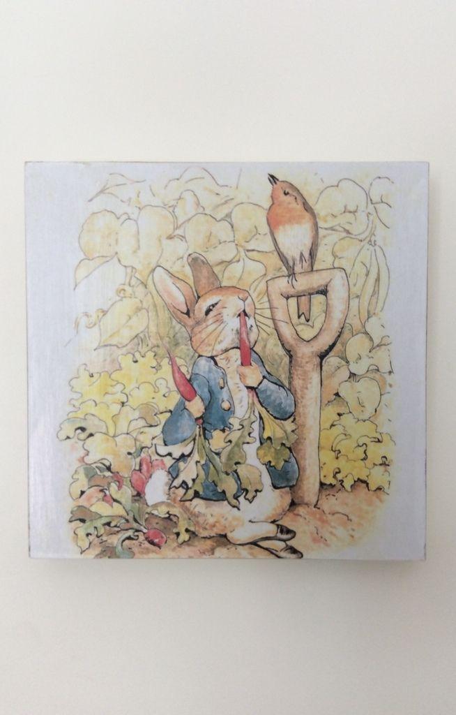 Cuadrito Peter Rabbit - Comprar en Baby Garage