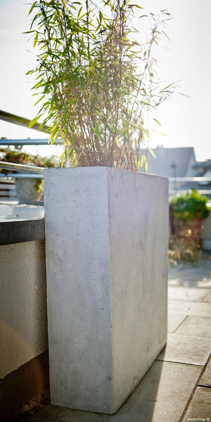 25+ Best Ideas About Blumenkübel Beton On Pinterest | Pflanzkübel ... Pflanzkubel Aus Beton Gestalterische Highlights
