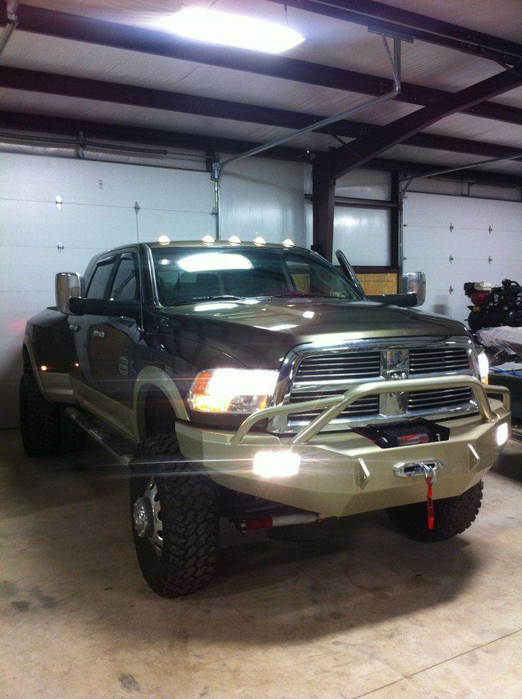 black dodge ram truck lifted