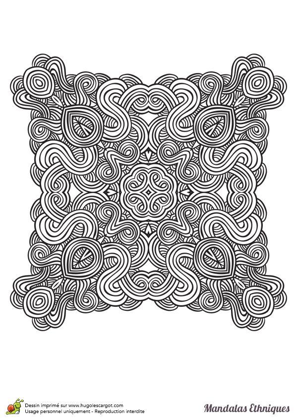 Les 485 meilleures images du tableau Coloriages Mandala sur ...