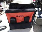 """SNAP-ON 12"""" WIDE MOUTH CANVAS TOOL BAG HOLDS HAND/POWER TOOLS"""
