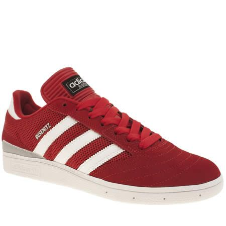 mens adidas red busenitz trainers