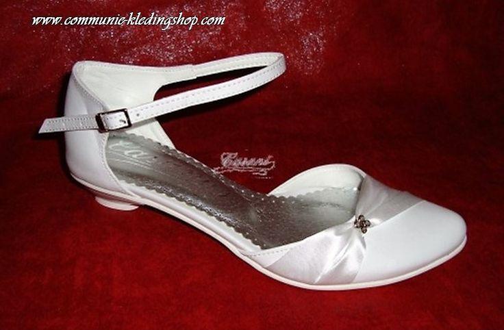 Communie schoenen met strass