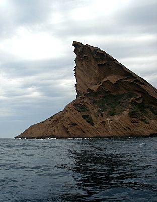 rocher volcanique du Bec de l'Aigle, La Ciotat, Provence