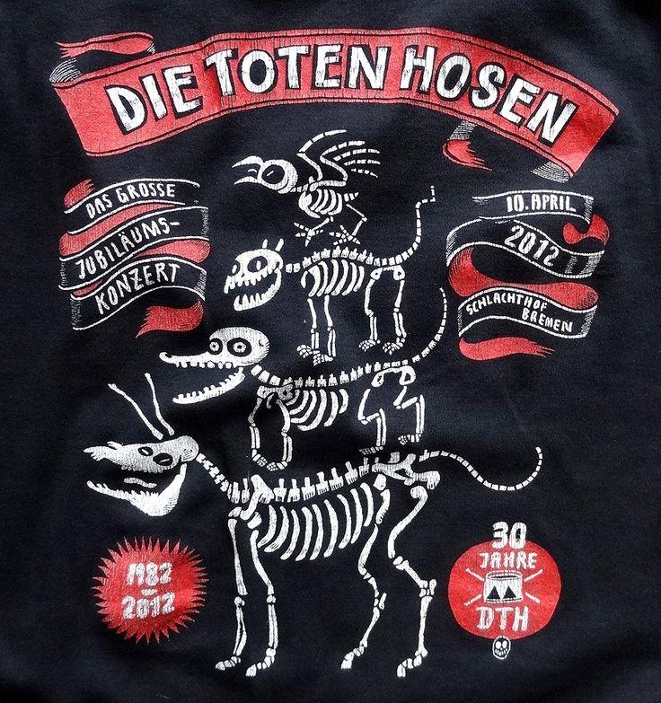 T-Shirt zum Jubiläumskonzert der #Toten #Hosen in #Bremen http://blog.bremen-tourismus.de/manni-und-die-toten-hosen