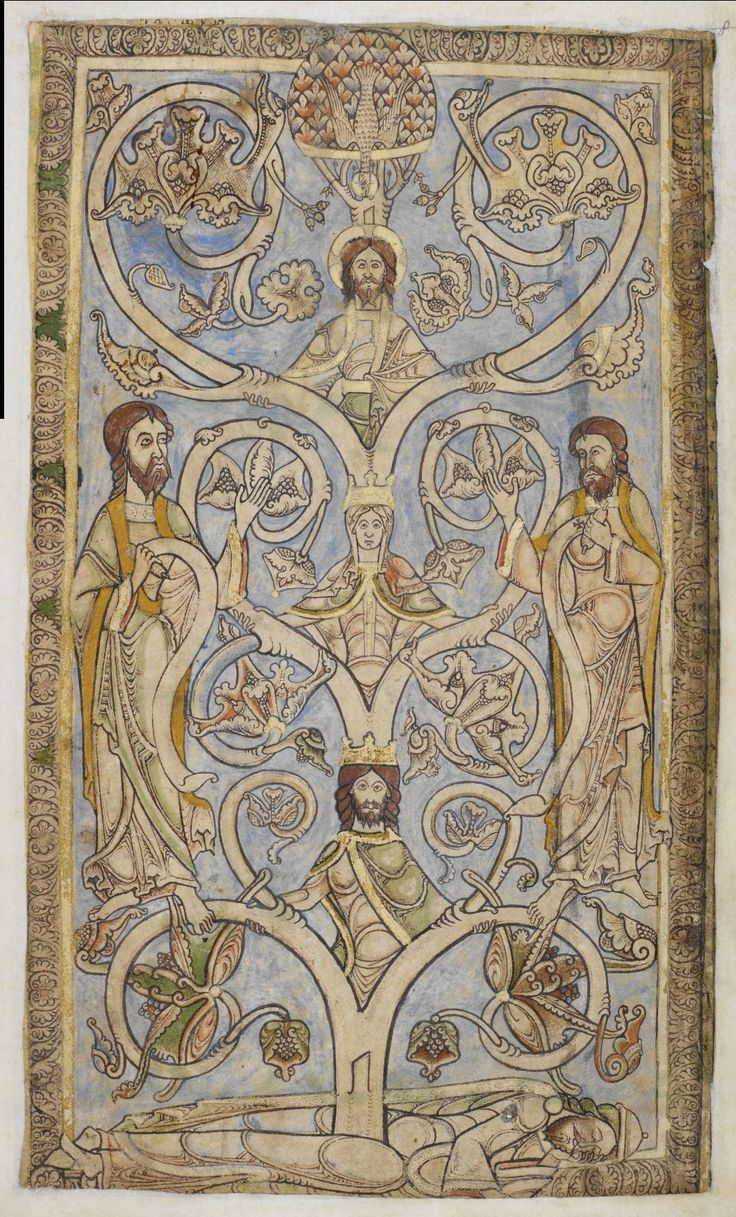 The Winchester Psalter- The Tree of Jesse , folio 9r The Tree of Jesse is an artistic depiction of the ancestors of Christ.  Possibly made for Henry of Blois. Made in Winchester England, about 1150 - 1275
