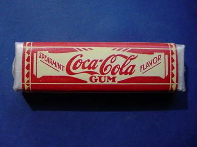 """SUPER RARE VINTAGE """"COCA-COLA"""" CHEWING GUM PACK - FIRST WE'VE SEEN!"""