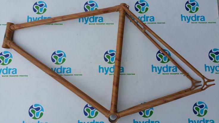 Cuadro bicicleta en madera