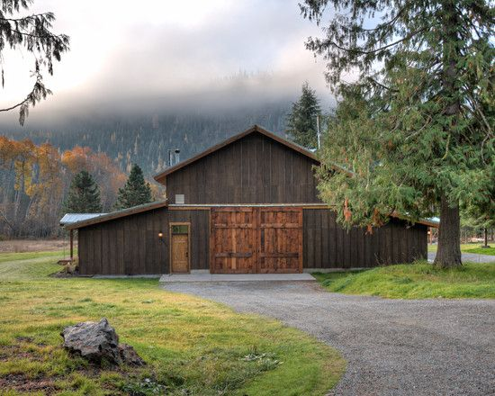 Traditional Garage And Shed Pole Barns Design, Pictures, Remodel, Decor And  Ideas