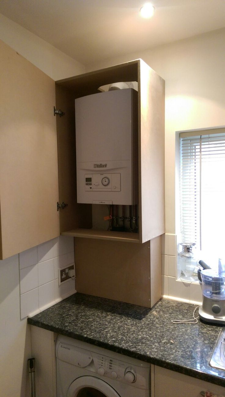 25 best boiler cupboard images on pinterest kitchen for Kitchen unit for boiler
