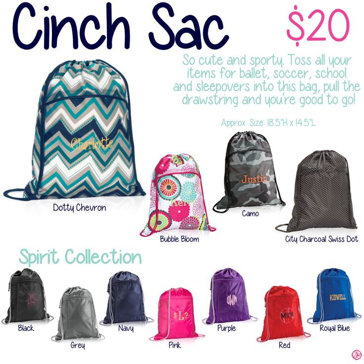 Cinch Sac by Thirty-One. Fall/Winter 2015. Click to order. Join my VIP Facebook Page at https://www.facebook.com/groups/1603655576518592/