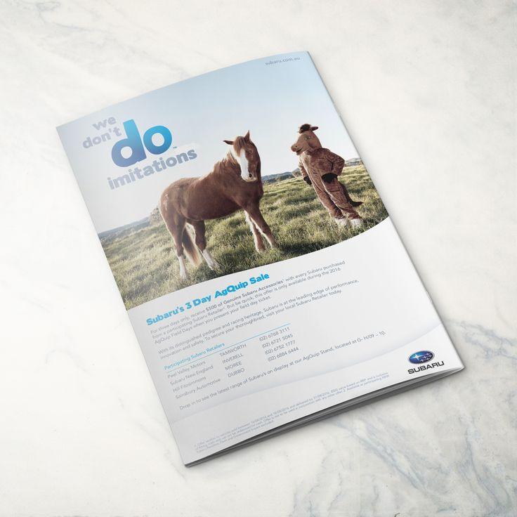 Back cover magazine advertisement for our friends at Subaru! #creatik #design #creatikdesign #creativeagency #sydneydesignstudio #creatives #graphicdesign #layoutdesign #photography #printdesign #typography #publication #minimalist #minimaldesign #lessismore #cleandesign #adobe #logo #logodesign #branding #brandidentity #rebrand #gooddesign #marketing #sutherlandshire #shiredesign #designsutherland #cronullasutherland