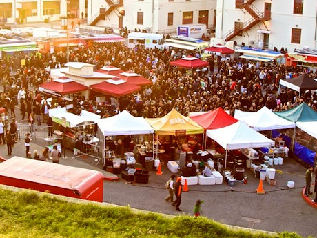 Off the Grid, a Friday night food truck party, at Fort Mason | San Francisco - DailyCandy